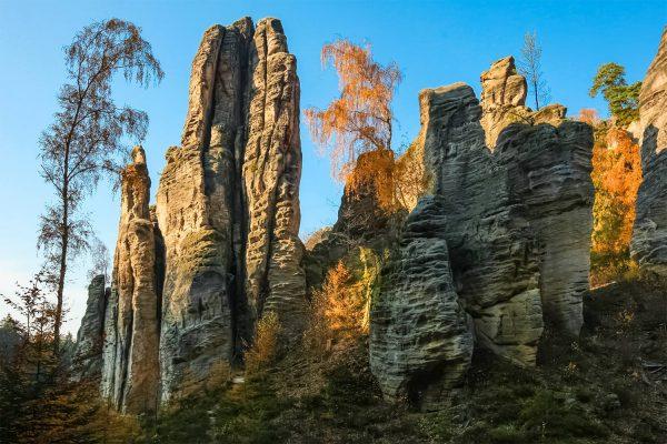 Prachov Rocks, Bohemian Paradise, Czechia