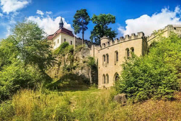 Valdštejn (Wallenstein) Castle, Bohemian Paradise, Czech Republic