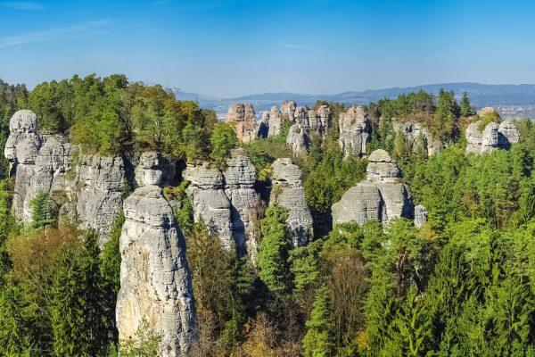 Prachov Rocks, Bohemian Paradise, Czech Republic
