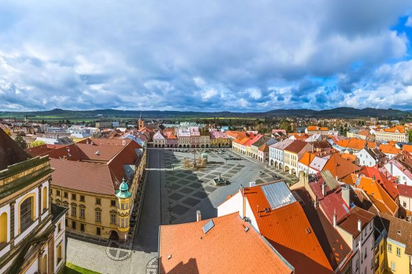 The Town of Jičín, Bohemian Paradise, Czechia