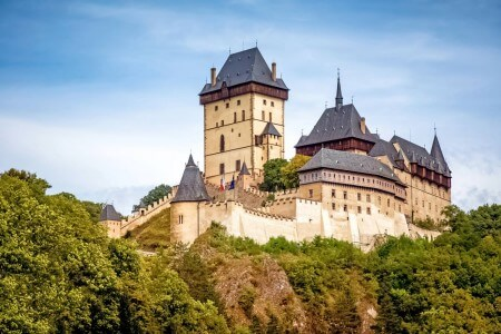Karlstejn Castle, Central Bohemia, Czechia