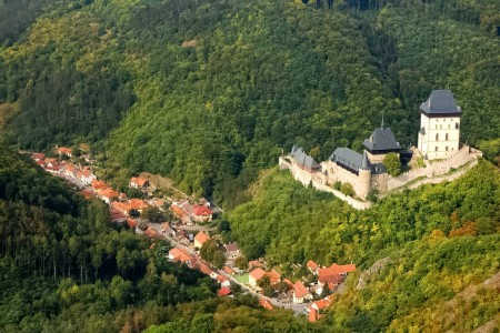 Karlstejn Castle and Town, Czechia
