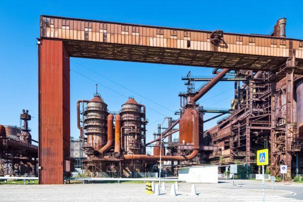 Industrial Heritage in Lower Vitkovice, Ostrava, Czechia