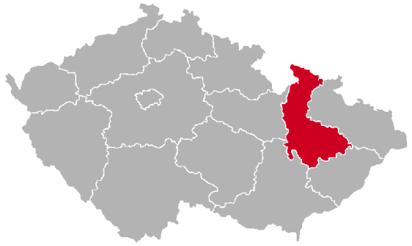 Olomouc Region on the Map