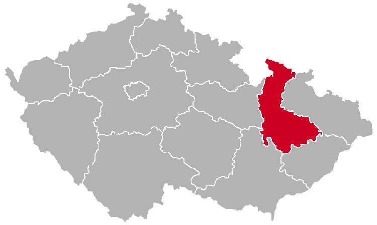 Olomouc Region on the Map