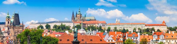Panorama of Prague Castle, Czechia