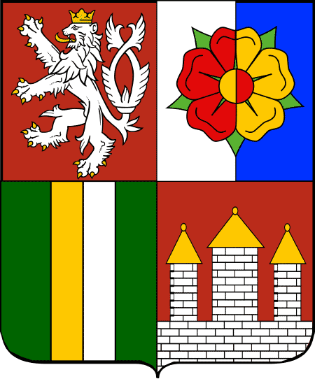South Bohemian Region Coat of Arms