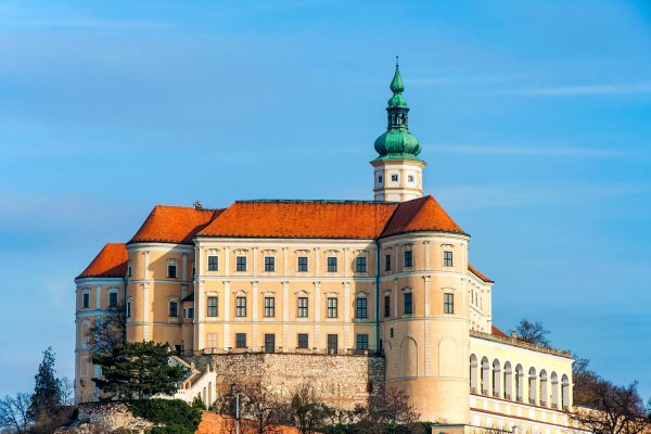 Mikulov Castle, South Moravia, Czechia