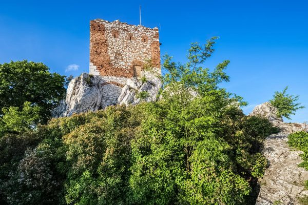 Kozí hrádek - Old Tower in Mikulov, South Moravia, Czechia