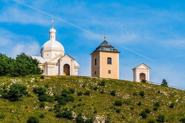 Svatý kopeček with Saint Sebastian Chapel