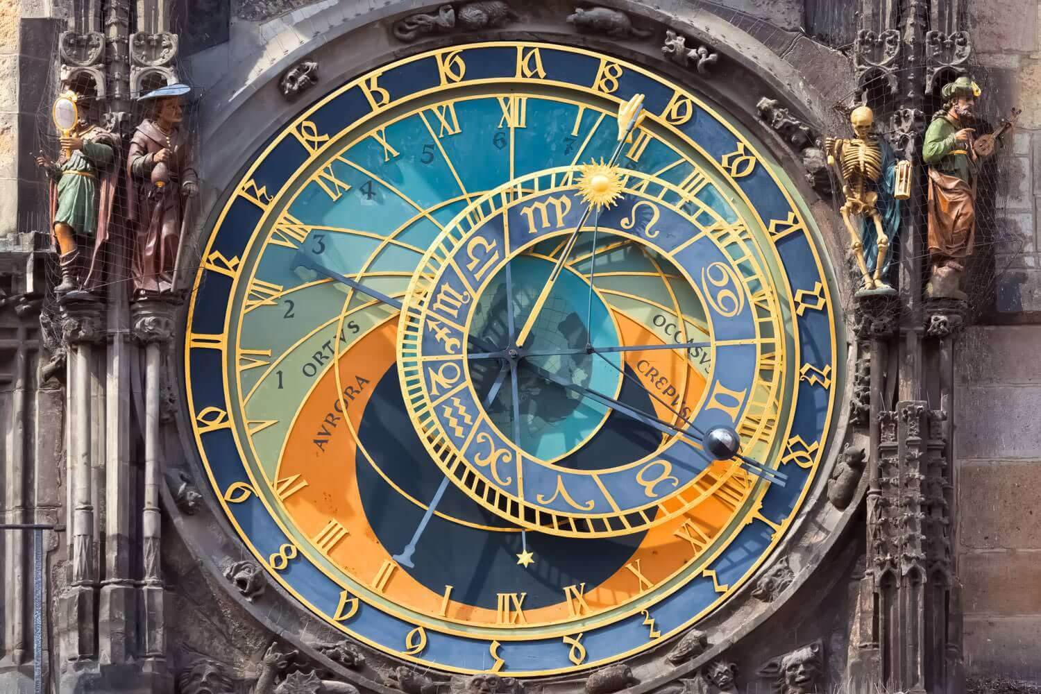 prague astronomical clock orloj amazing czechia