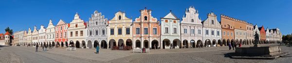 Renaissance Houses in Telč, Czechia