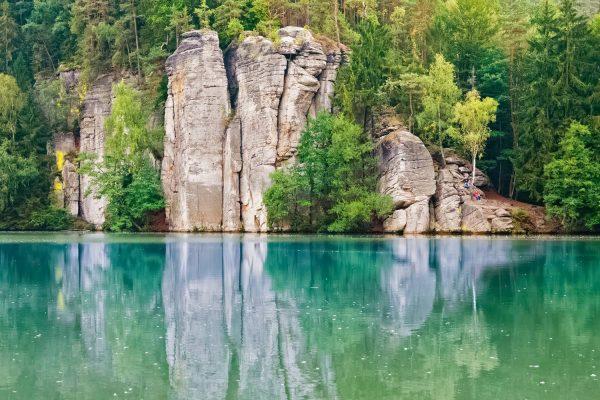 Věžák Pond in Bohemian Paradise