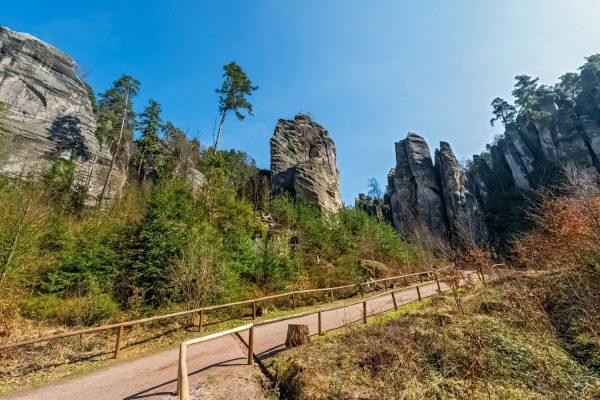 Prachov Rocks (Prachovské skály) in Bohemian Paradise