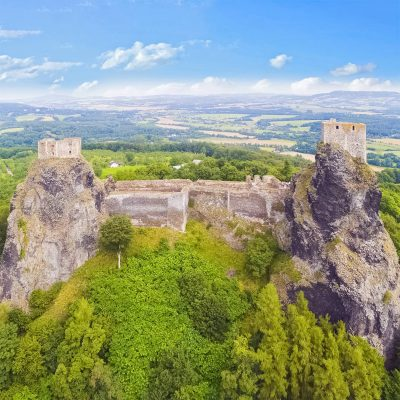 The Ruins of Trosky Castle, Bohemian Paradise, Czechia