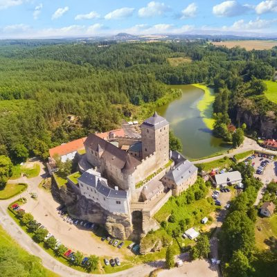 Gothic Castle Kost in Bohemian Paradise, Czechia