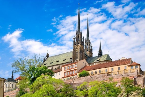 Cathedral of Saints Peter and Paul, Brno, Moravia, Czech Republic