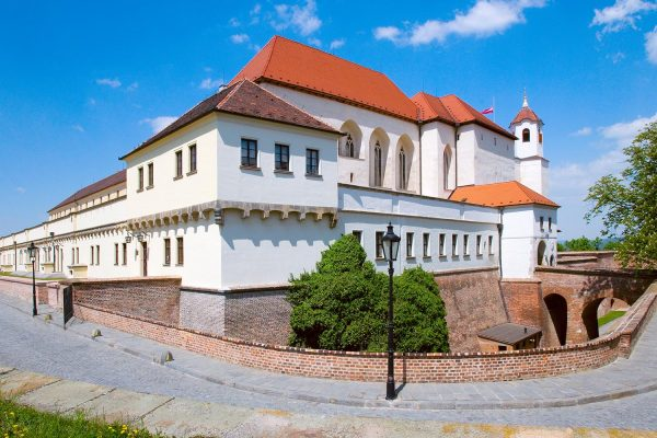 Špilberk Castle in Brno, Moravia, Czech Republic