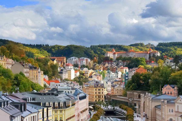 Panorama of Karlovy Vary