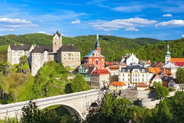 Loket Castle and Town, Czech Republic