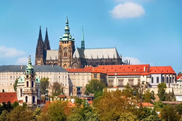 Prague Castle with Saint Vitus Cathedral, Czech Republic