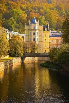 Autumn in Karlovy Vary, Czechia