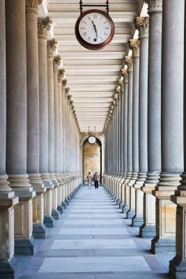 Mill Colonnade in Karlovy Vary, Czechia