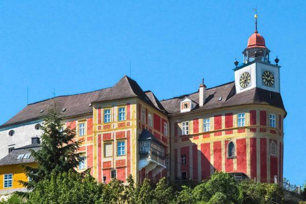 Jansky Hill (Jansky Vrch) Castle in Javornik Town, Olomouc Region, Czech Republic