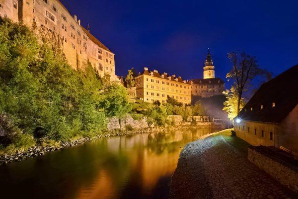 The State Castle Český Krumlov, Czechia