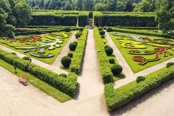 The Garden of Kroměříž Castle, Czechia