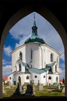 The Pilgrimage Church of St John of Nepomuk at Zelená Hora, Žďár nad Sázavou, Czechia