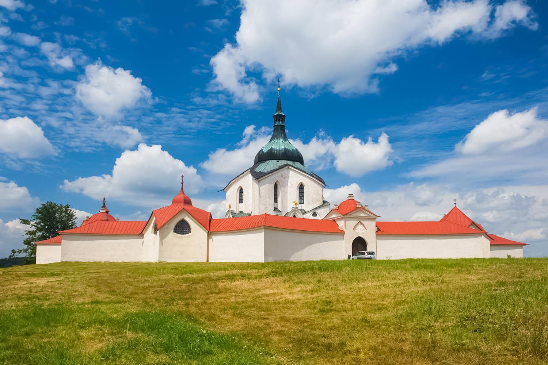 The Pilgrimage Church of St John of Nepomuk at Zelená Hora, Žďár nad Sázavou, Czechia