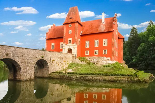 Červená Lhota Chateau, Czechia