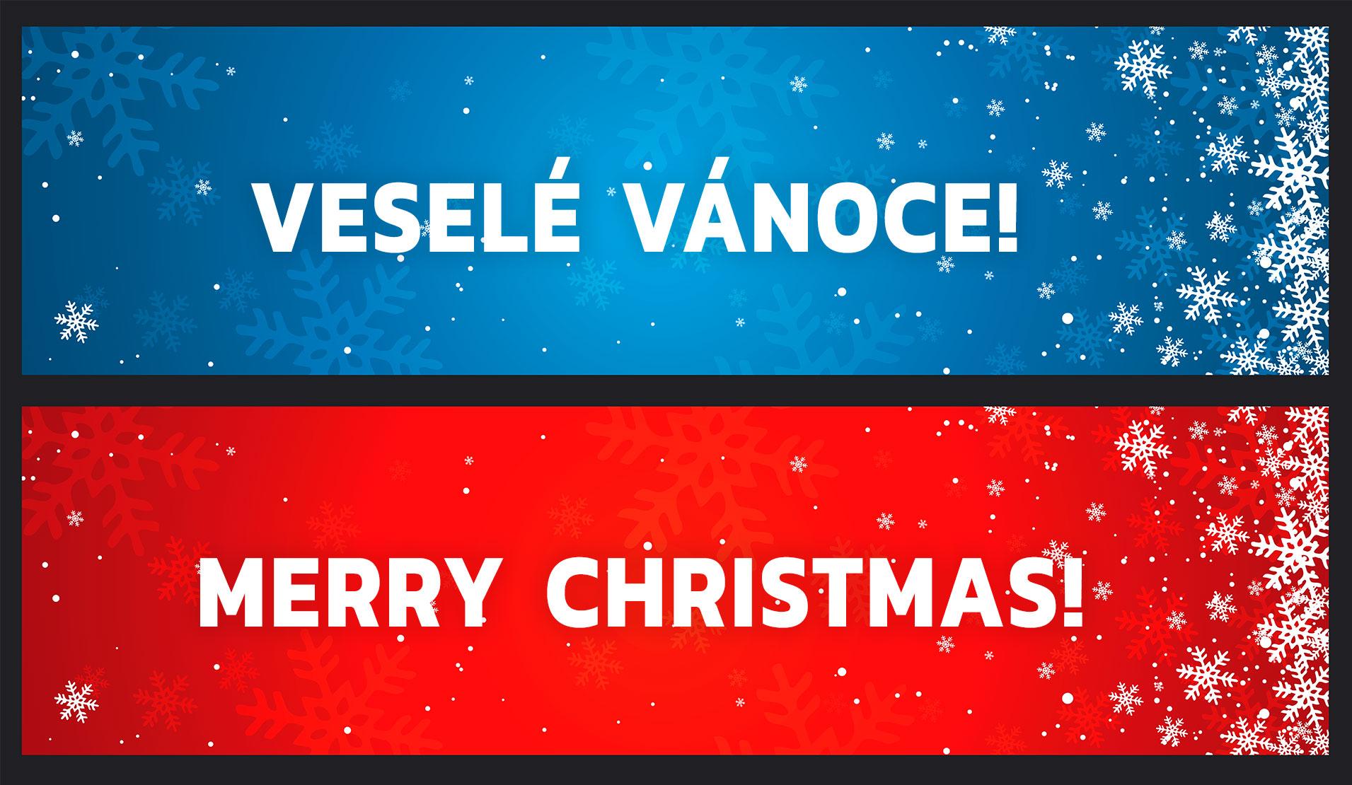 Veselé Vánoce / Merry Christmas