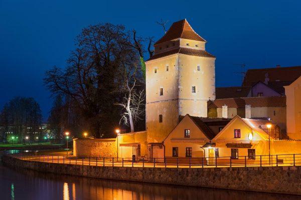 Iron Maiden Tower (Železná panna), České Budějovice