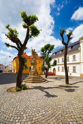 Žerotínovo Square (Žerotínovo náměstí), Olomouc, Moravia, Czechia