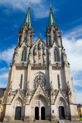 Saint Wenceslas Cathedral, Olomouc, Moravia, Czechia
