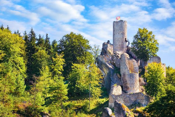 Hiking in Bohemian Paradise - Fydstejn Castle