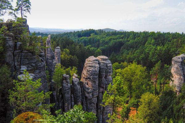 Hiking in Bohemian Paradise