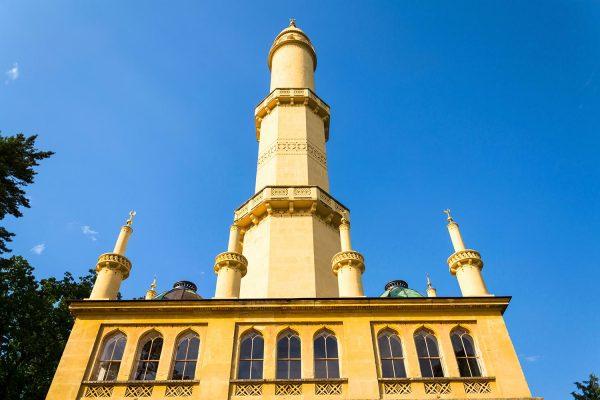 The Lednice Minaret, Lednice-Valtice Cultural Landscape, Moravia, Czechia