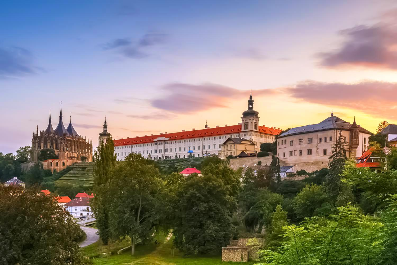 Kutná Hora Skyline, Bohemia, Czechia