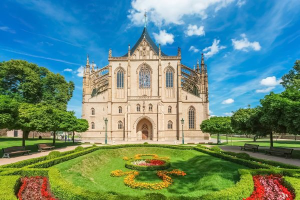 St. Barbara's Church, Kutná Hora, Czechia
