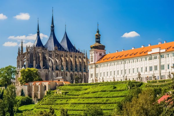 St. Barbara's Church and the Jesuit College, Kutná Hora, Czechia