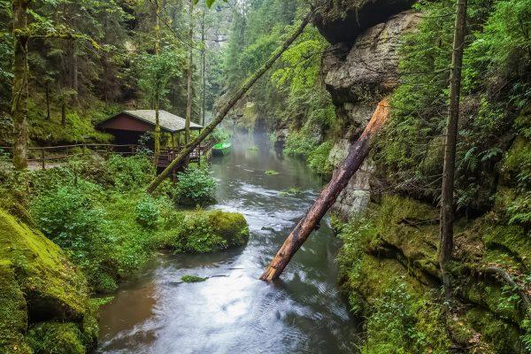 Boat Tours in Bohemian Switzerland, Czechia