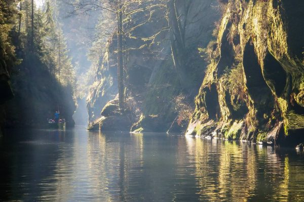 Boat Tours in Bohemian Switzerland, Czechia