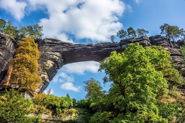 Pravcice Arch in Bohemian Switzerland National Park