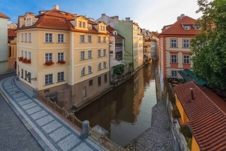 The Čertovka Channel (Devil's Stream), Prague, Czechia