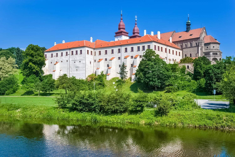 Třebíč Castle and St. Procopius Basilica, Vysočina, Moravia, Czechia