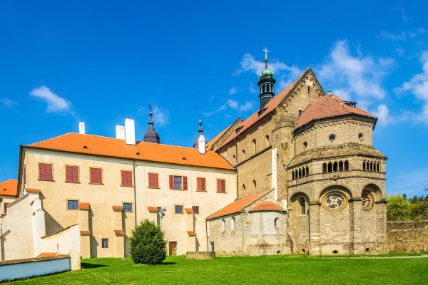 St. Procopius Basilica in Třebíč, Vysočina, Moravia, Czechia
