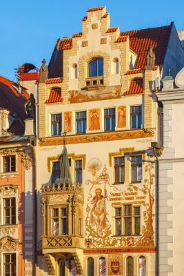 The Storch House, Old Town Square, Prague, Czechia